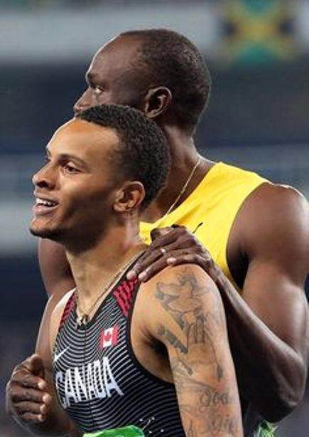 Andre De Grasse's 5 Tattoos & Their Meanings