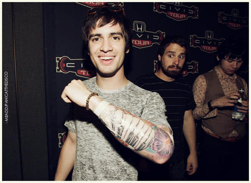 Brendon Urie Piano Keyboard Tattoo