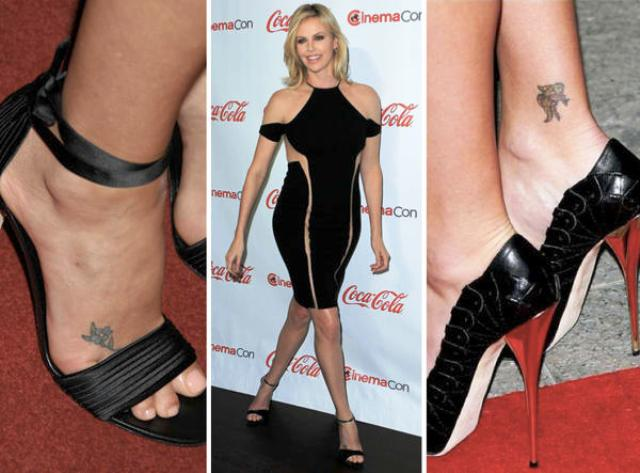 Charlize Therons 2 Tattoos & ihre Bedeutung