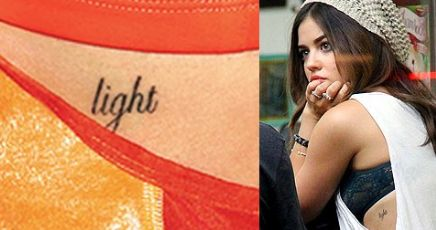 Lucy Hale's 12 Tattoos & Their Meanings